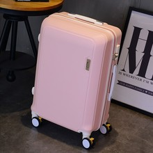 Luggage suitcase Small, light and small traveling student Large pull-rod suitcase Household handheld girl fresh