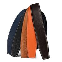 唐橱H皮带男士真皮头层牛皮铜扣腰带裤带宽度适用爱马仕ck皮带
