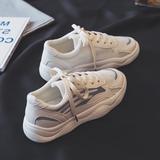 夏季老爹鞋女2019新款网鞋ins透气网面运动百搭小白板鞋夏款潮鞋