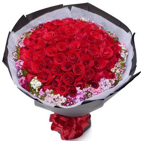 郴州鲜花同城速递红玫瑰花束礼盒北湖苏仙区资兴市表白生日送花店