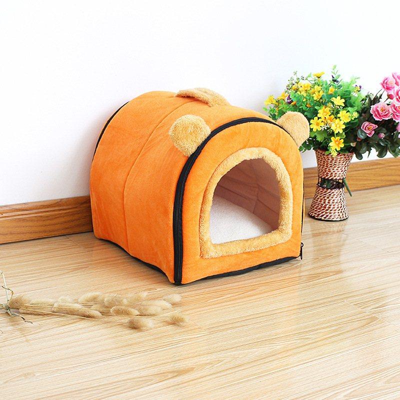 宠物窝 狗窝猫窝四季可用泰迪贵宾小型犬一窝两用夏