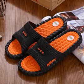拖鞋男夏防滑时尚耐磨外穿一字凉拖沙滩潮流韩版家用室内男士凉鞋图片