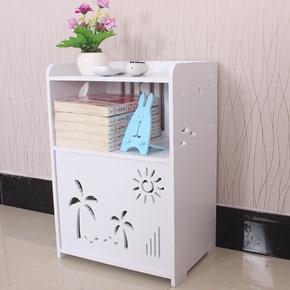 欧式床头柜时尚简易储物柜现代简约卧室床边柜整装法式抽屉柜斗柜