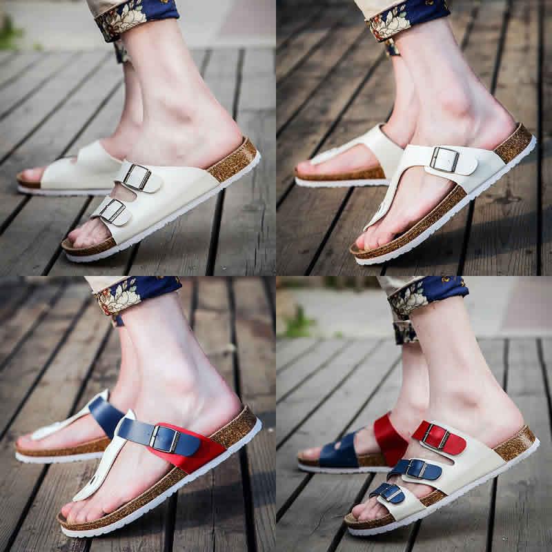 韩版软木拖鞋