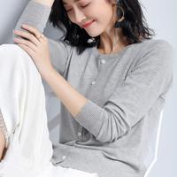 回归季2018春季新品女装长袖针织衫上衣韩版宽松薄款针织衫女毛衣
