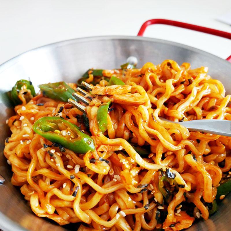 三养火鸡面韩国进口超辣变态辣速食泡面拉面网红干拌面方便面