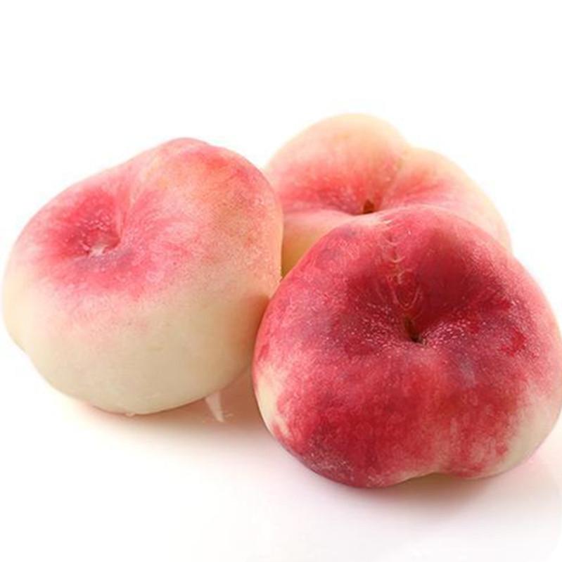 3南瓜桃农家果园现摘现发黄蟠桃扁桃新鲜水果桃子软桃蟠桃5斤包邮