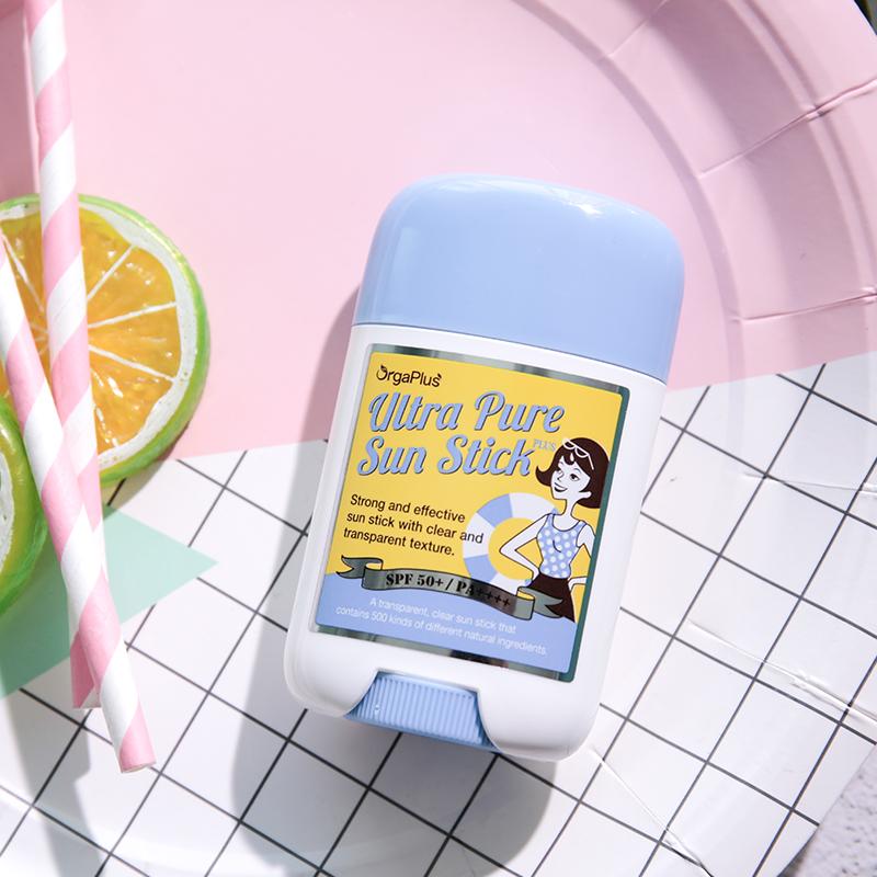李糖sugar 韩国OrgaPlus梧伽普罗斯防水不油腻防晒棒 孕妇可用