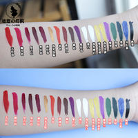 Anime cosplay color eyeliner color display easy to color super easy to use can be coarse and fine COS cosmetics