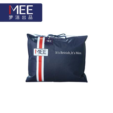梦洁家纺MEE蓝色无纺布袋收纳袋家用被子整理袋旅行大袋子送礼袋商品大图