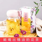 Cloud rose tea, big flower, crown, dried rose, non-super sputum, foam, horizontal, sulphur-free red rose tea