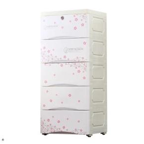 带锁房间整理塑料箱储物柜 抽屉式客厅抽屉式落地置物收纳架卧室