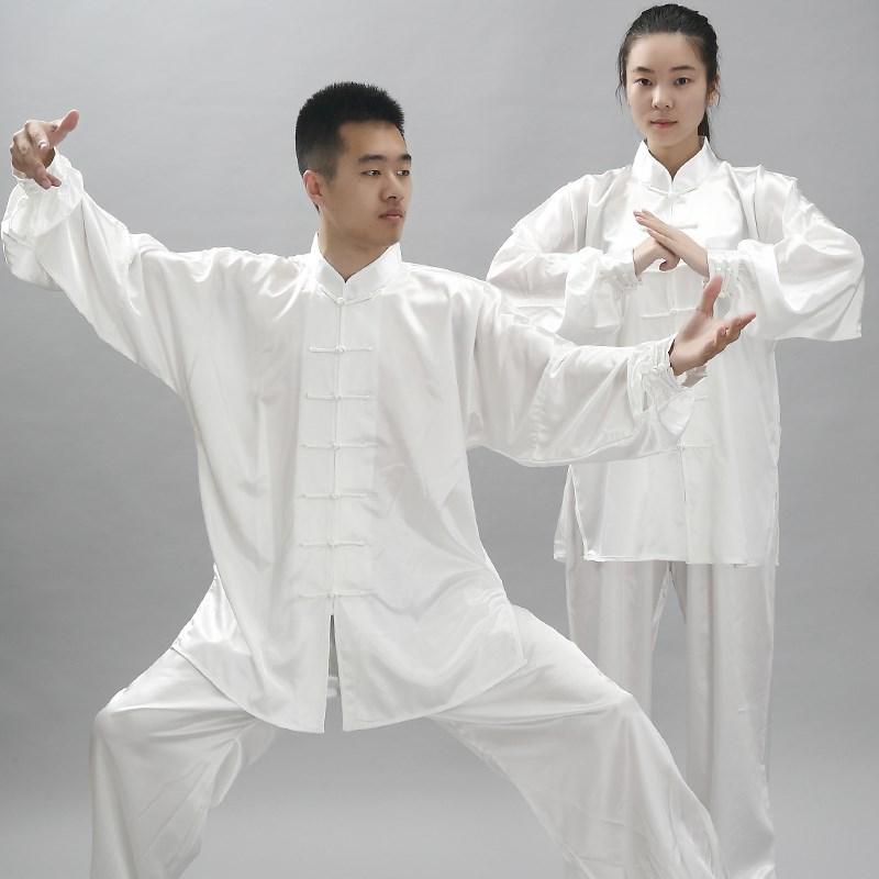 劲武新款太极武术卫衣套头男女比赛练功服表演太极拳服装长袖上衣