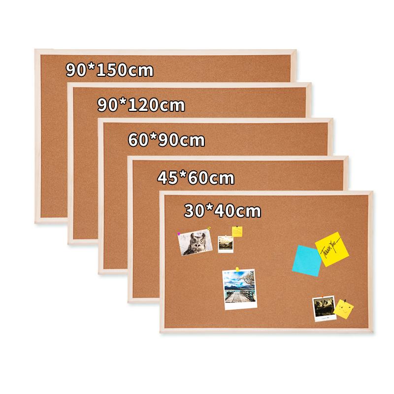 木框 软木板照片墙幼儿园软木板主题墙办公家用留言板软木背景墙图钉板订制个性创意公告栏水松板宣传板