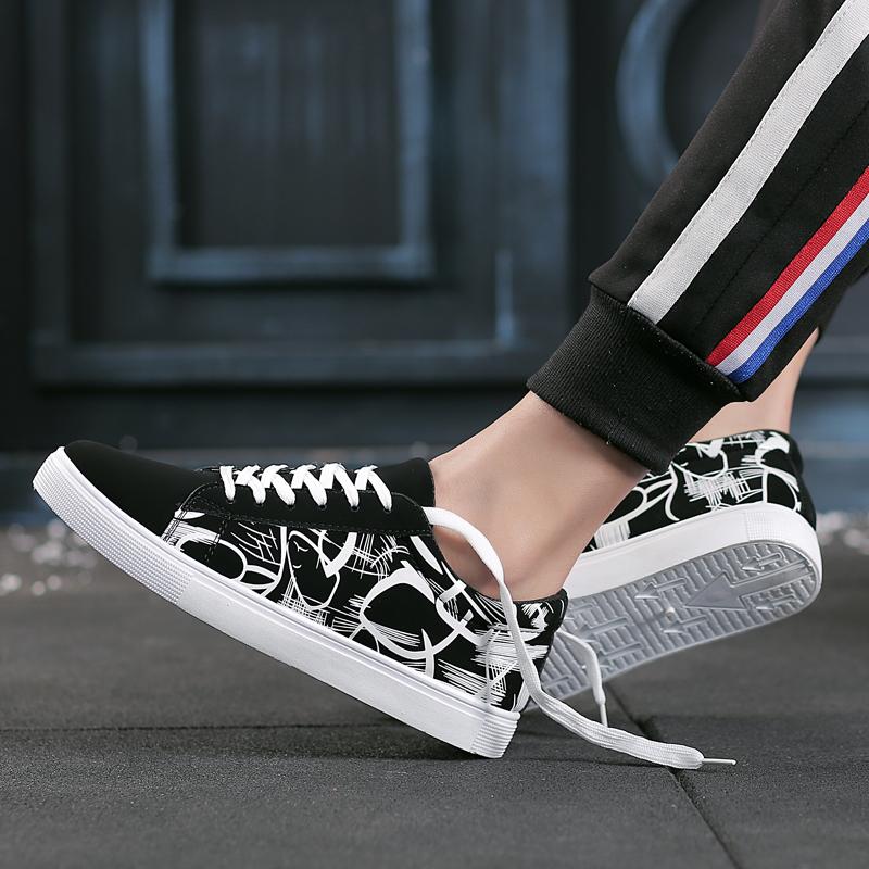 小白黑白潮流鞋