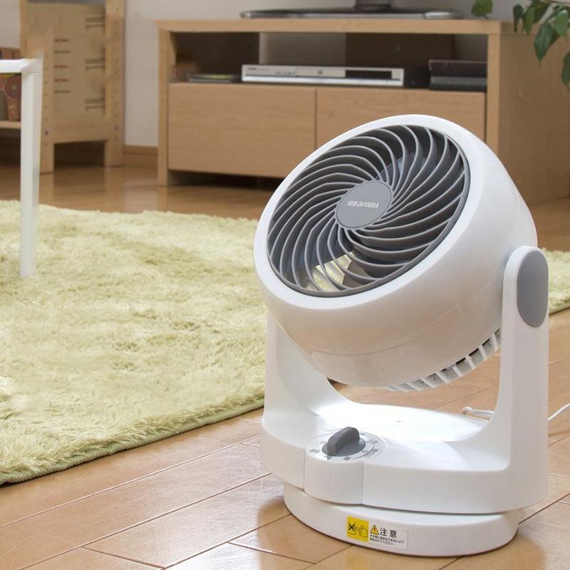爱丽思/IRIS CFA-187C空气循环扇家用静音落地扇空调伴侣电风扇