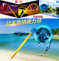 New multi-function lost rope fishing device fishing box lost rope rope fishing rod reins automatic lost rope fishing gear