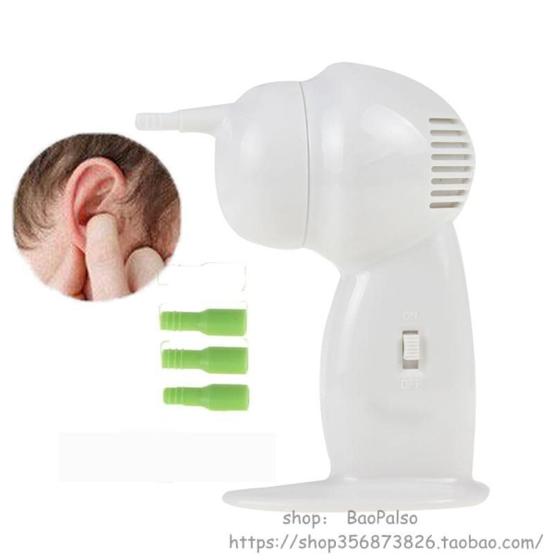 Safe Electric Ear Cleaner Painless Suction Earwax Remover