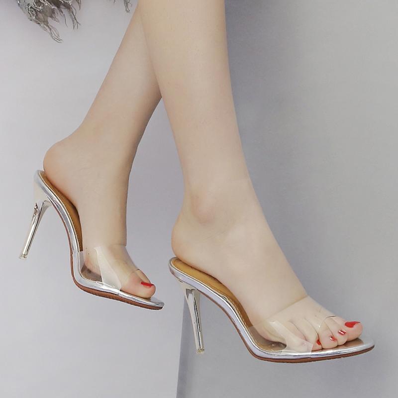 高跟女装拖鞋