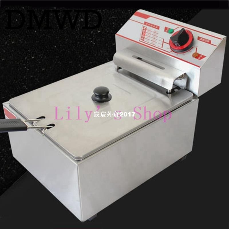 Electric deep fryer Multifunctional Household Commercial Sta