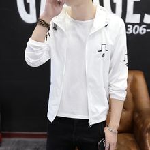 Men's Outerwear New Sunscreen Clothes for Summer 2019 Men's Wear Korean Edition Fashion, Handsome and Thin Sports Jacket