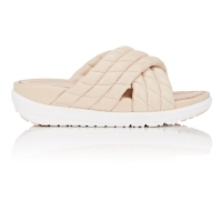 FITFLOP LIMITED EDITION 女鞋绗缝皮革拖鞋