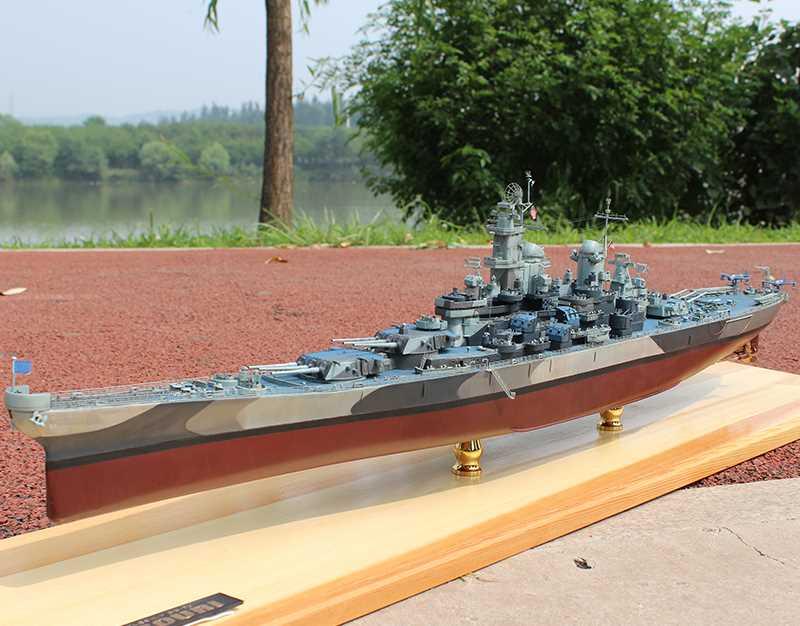 小号手拼装军舰模型1/350密苏里号战列舰 成人军事战舰世界船模
