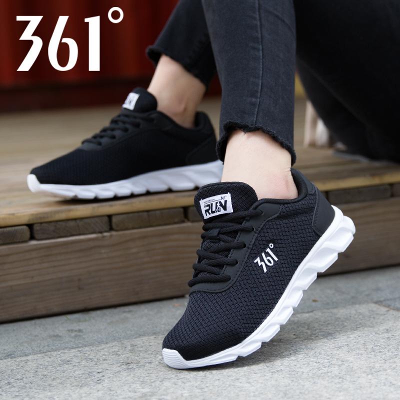 361运动鞋女官方旗舰店秋冬款皮面休闲跑步鞋子品牌361度冬季女鞋