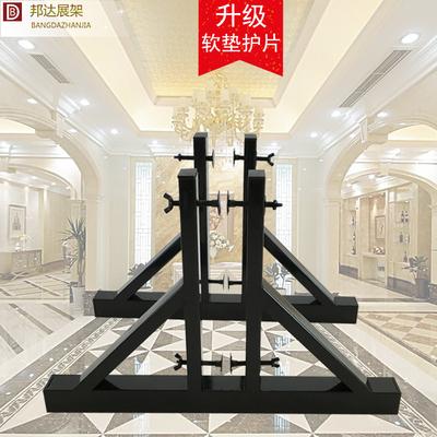 众蚁 木门展架 大理石瓷砖大板架实木门石材展示架实木大板玻璃