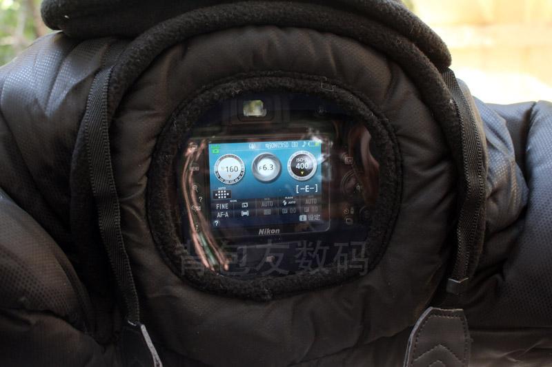 单反防寒罩相机保暖套冬季保温防冻棉袄服摄影羽绒隔音户外防雪