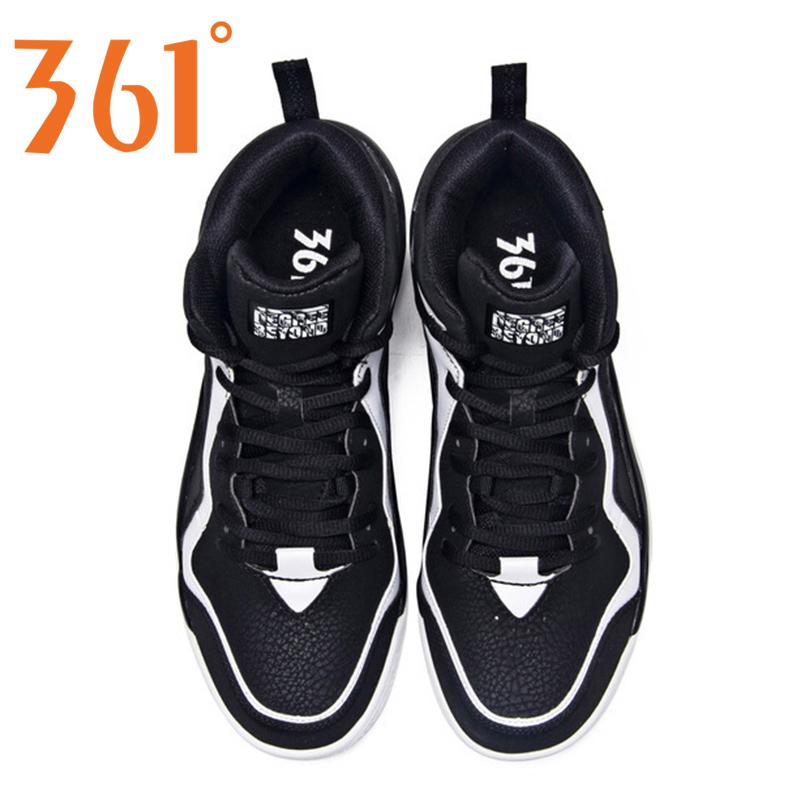 361篮球鞋男鞋2018夏季缓震防滑气垫运动篮球鞋361度高帮运动鞋男