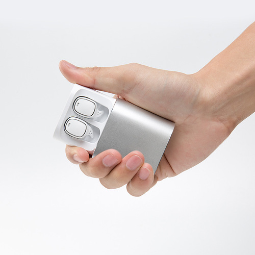 【自营】QCY t1 pro无线蓝牙耳机超小双耳触控式按键手机通用