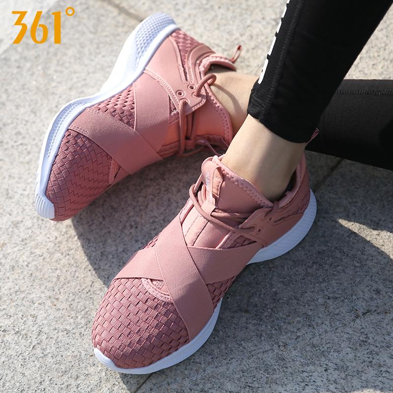 361女鞋2019冬季新款跑步鞋跑鞋轻便休闲鞋361度健身鞋运动鞋子女