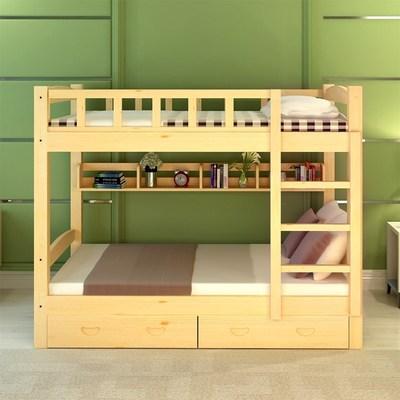 高架床成人多功能组合床实木上下床空间床上床下桌省高低宿舍床