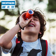 迪卡侬儿童定焦光学多彩单筒望远镜户外徒步露营小巧便携QUOP