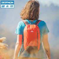 Decathlon Backpack Men and women Leisure Travel Mini Backpack Lightweight Schoolbag QUBP