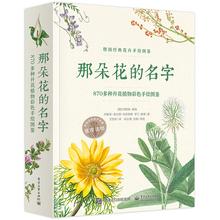 常见植物图鉴书籍 绘画图书籍 花卉手绘书籍 花卉手绘图鉴 经典 那朵花 870多种开花植物彩色手绘图鉴全彩 名字 手绘植物图鉴书籍