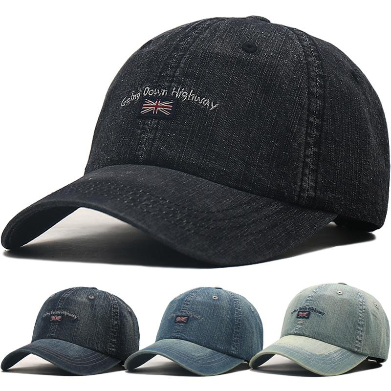 帽子男士棒球帽夏天薄款透气遮阳帽鸭舌帽女太阳帽牛仔帽时尚休闲