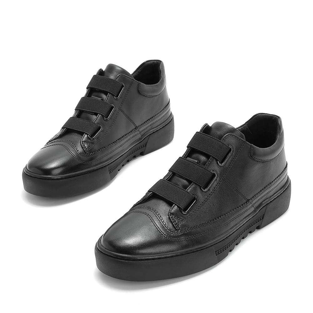 【商场同款】天美意软面休闲男靴单靴2018冬季新款BCX33DD8