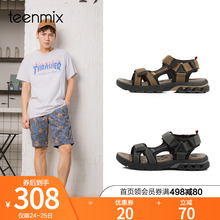 Teenmix/Tianmeiyixia counter with the same type of frosted magic sticker for men's sandals 67N01BL8