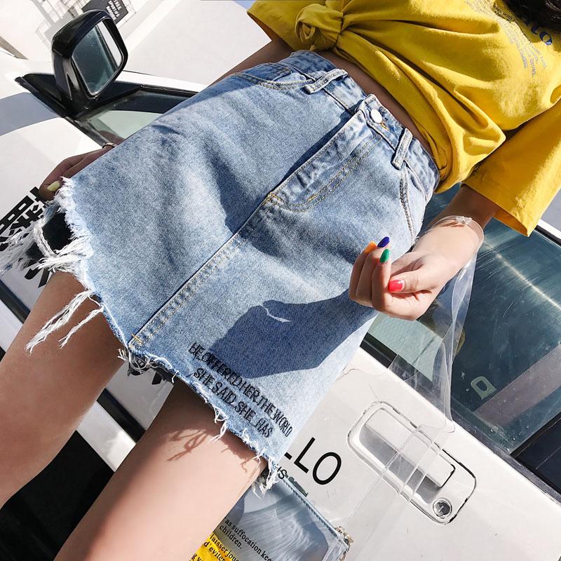 刺繡短裙子