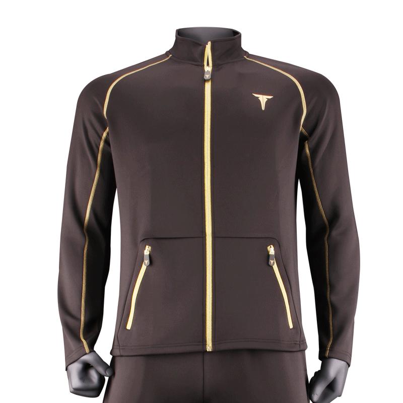TIBHAR挺拔运动服卫衣乒乓球运动服秋冬舒适长袖套装特斯拉2018款