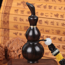 Free engraving ebony rosewood sandalwood snuff bottle to experience funnel outbound gifts folk crafts
