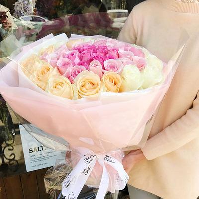99朵玫瑰花束上海同城鲜花速递求婚生日七夕情人节女朋友送花上门