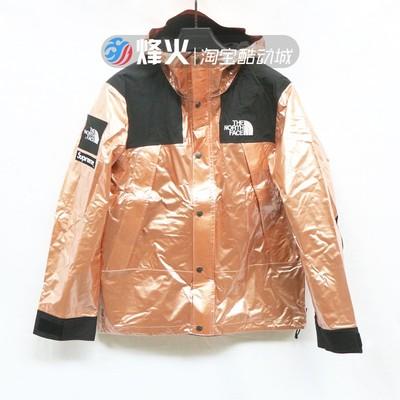 烽火 SUPREME METALLIC MOUNTAIN JACKET 冲锋衣 NP11801I红铜色