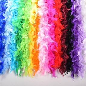 2m multi color fluffy handcraft ostrich feather plume boas