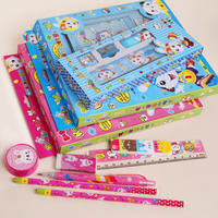 Qing let primary school stationery set prizes Fu bag gift kindergarten school supplies children gift wholesale gift box