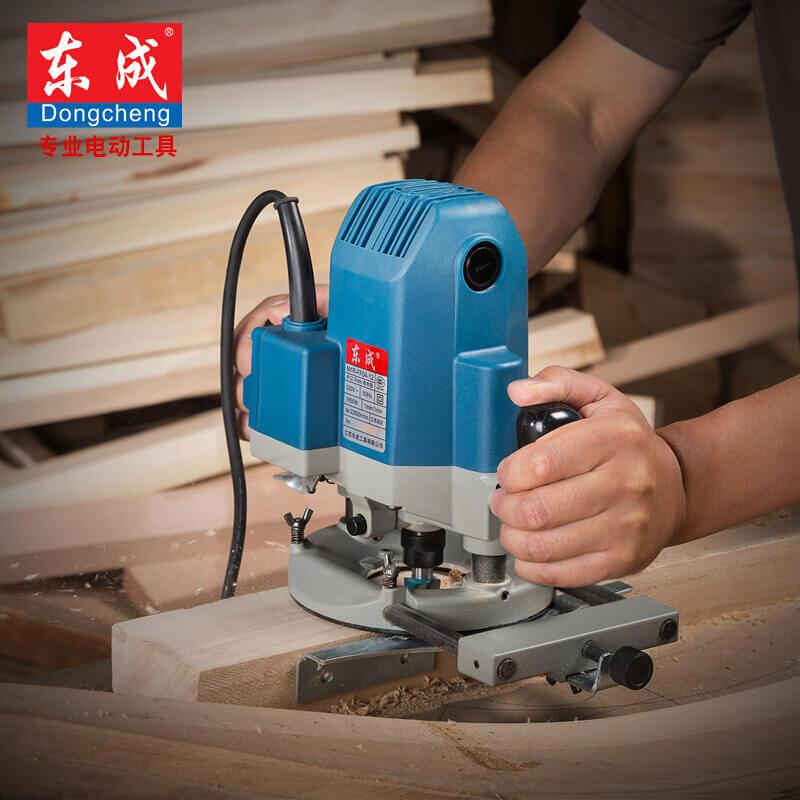 东成木工工具电木铣木工雕刻机电动大锣机开槽修边机M1R-FF02-12