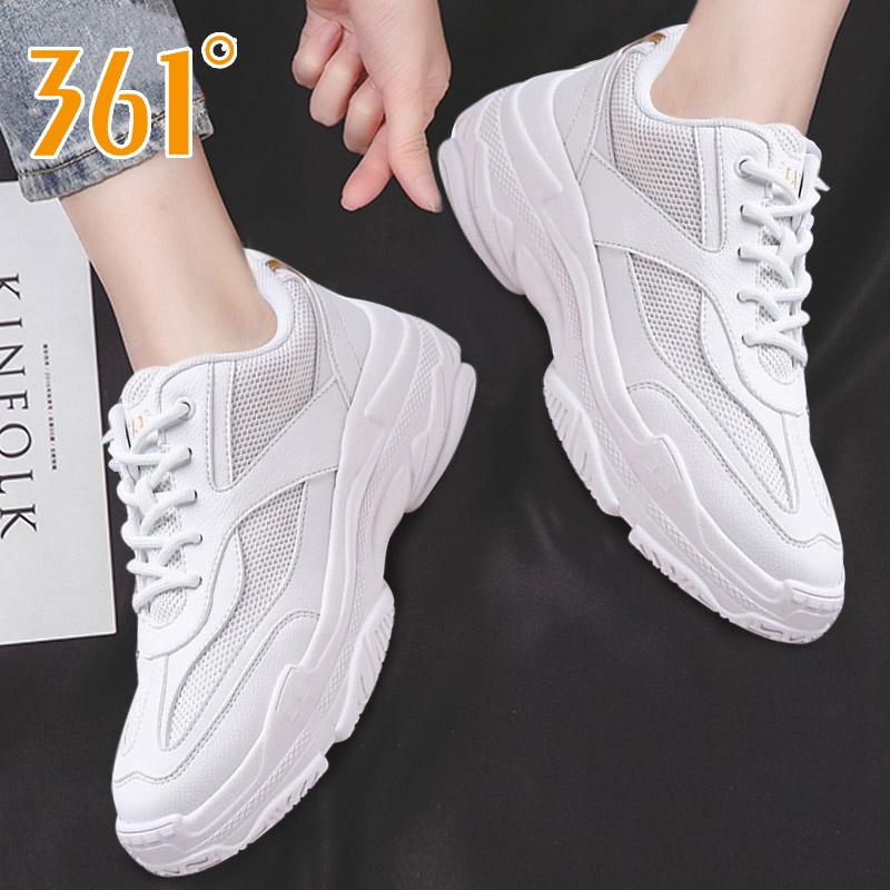 361运动鞋女鞋2019秋冬季新款增高小白鞋子老爹鞋女学生跑步鞋女