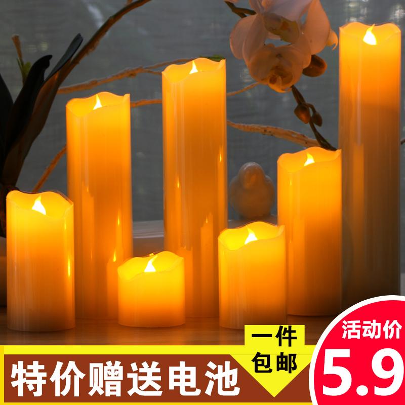 装饰柱蜡烛